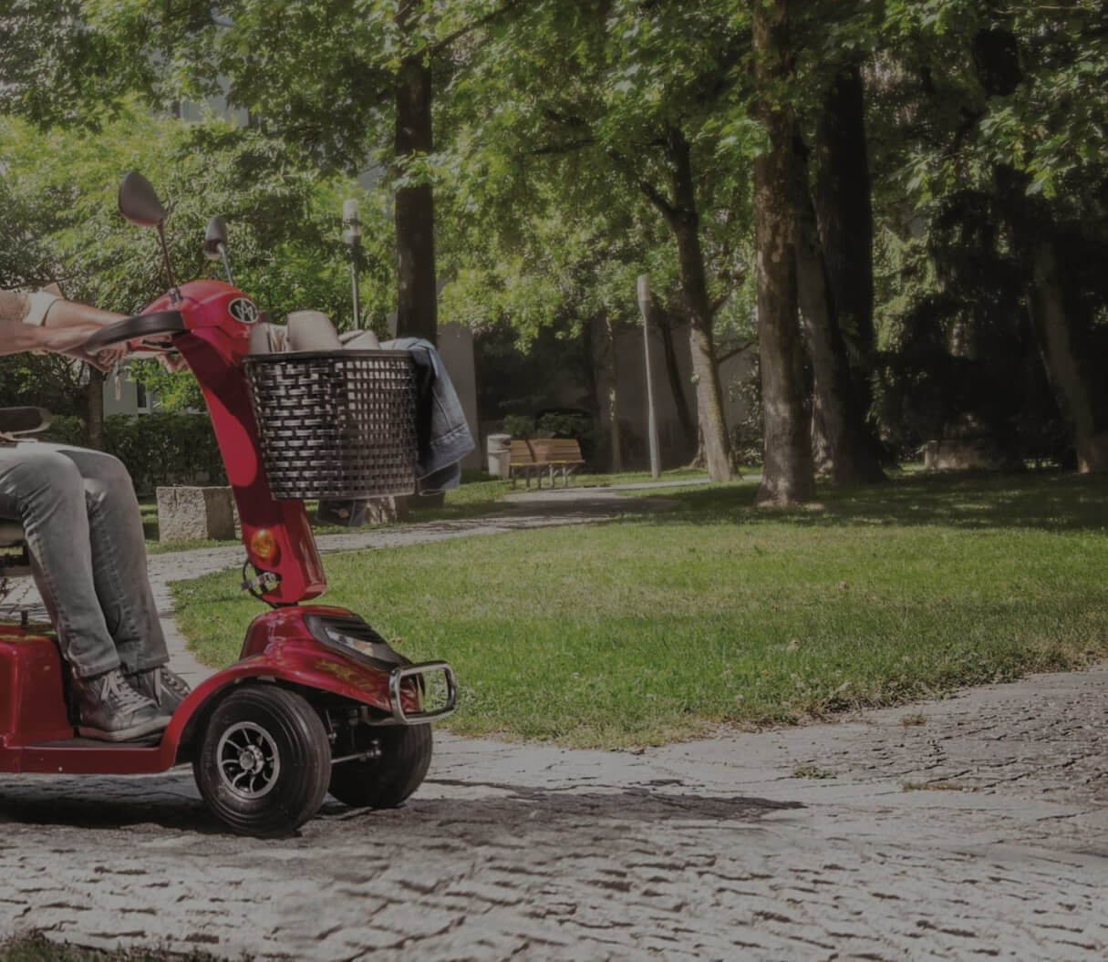 Senioren-Elektromobil
